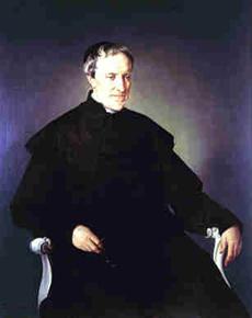 Antonio Rosmini in un ritratto di Francesco Hayez